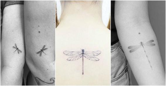 tatuajes de libelulas 4