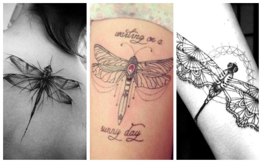 27 tatuajes de libélulas y su poderoso significado 8