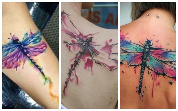 tatuajes de libelulas 11