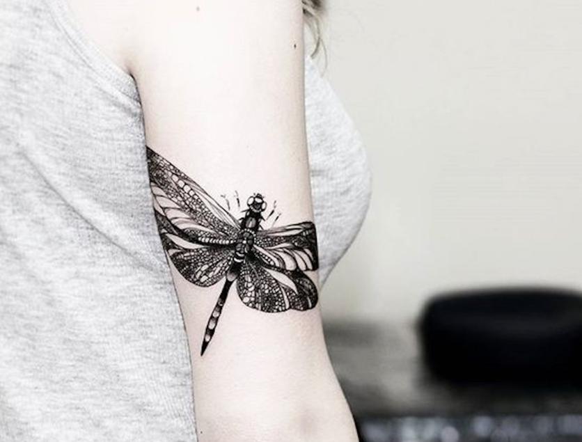 27 tatuajes de libélulas y su poderoso significado 2