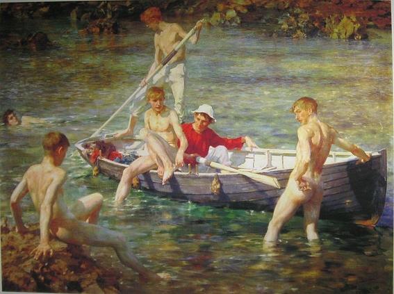 pinturas de henry scott tuke 4