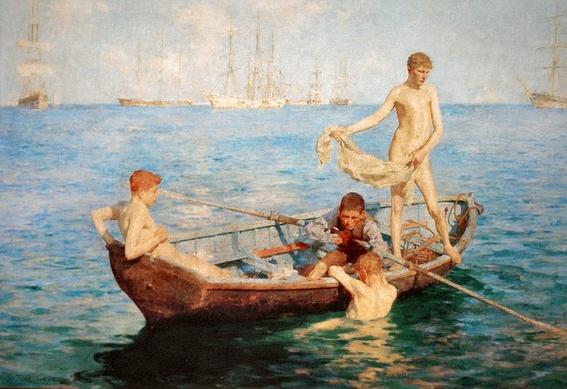 pinturas de henry scott tuke 7