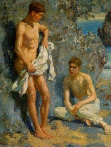 pinturas de henry scott tuke 1