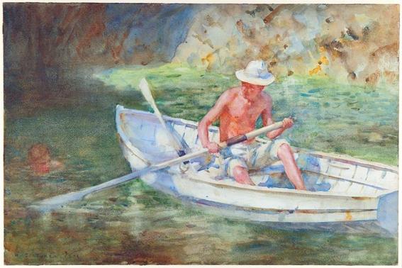 pinturas de henry scott tuke 5