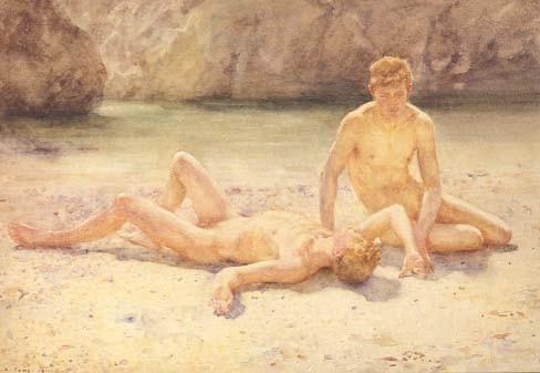 pinturas de henry scott tuke 8