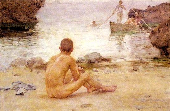 pinturas de henry scott tuke 6
