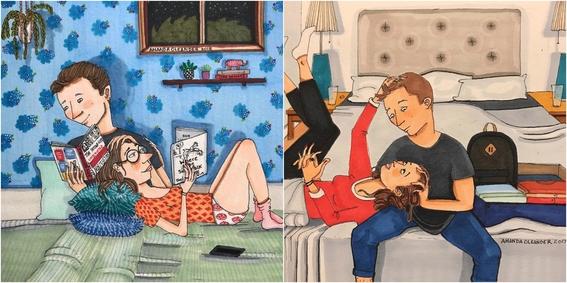 ilustraciones de amanda oleander 2