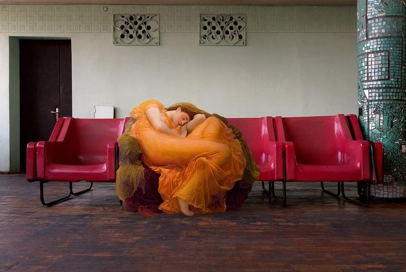 Alexey Kondakov: el artista que convierte a los personajes del arte clásico en personas comunes y corrientes 0