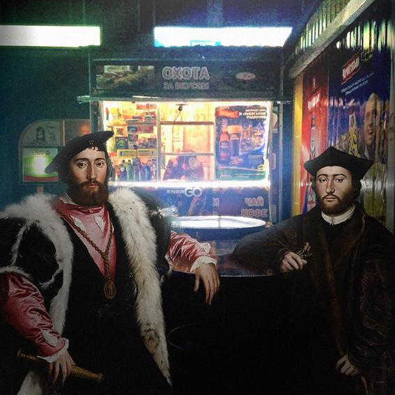 obra de collages de alexey kondakov 2