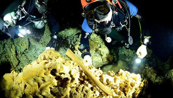 descubren cueva sumergida maya en tulum 2