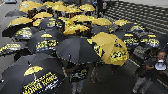 revolucion de los paraguas 1