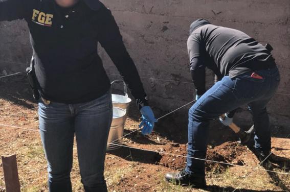 crimen organizado renta casas para enterrar victimas 1