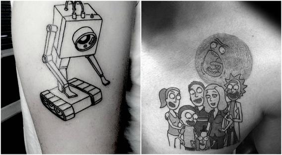 tatuajes que todo fan de rick and morty 5
