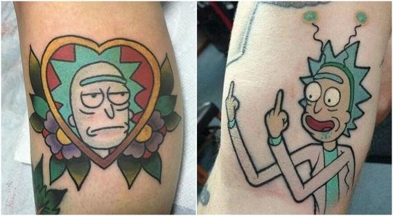tatuajes que todo fan de rick and morty 8