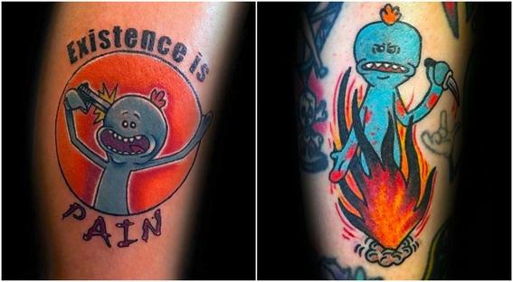 tatuajes que todo fan de rick and morty 10