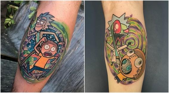 tatuajes que todo fan de rick and morty 11