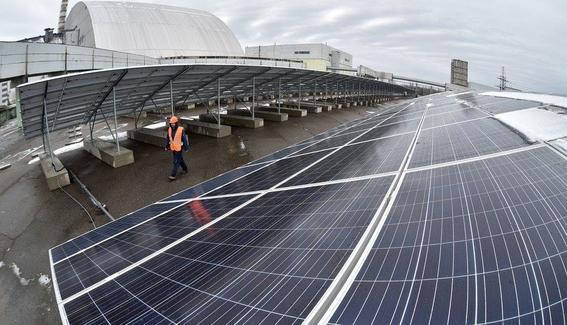 planta solar en chernobyl 2