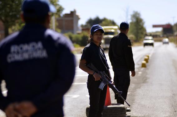 feminicidio de guadalupe campanur comunera de cheran 2