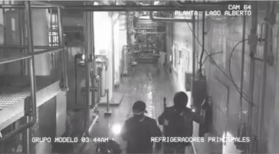 ladrones en cerveceria modelo 1