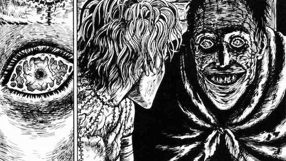 junji ito horror manga trypophobia 5