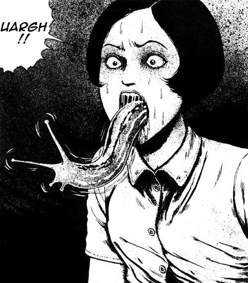 junji ito horror manga trypophobia 6