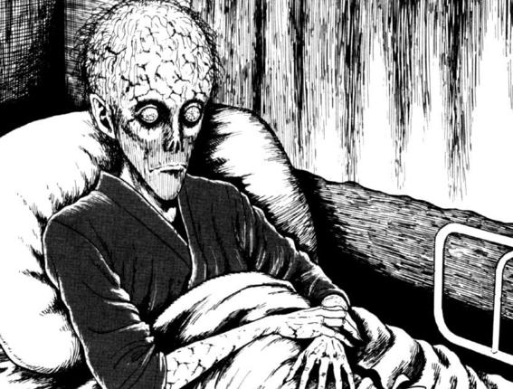 junji ito horror manga trypophobia 8