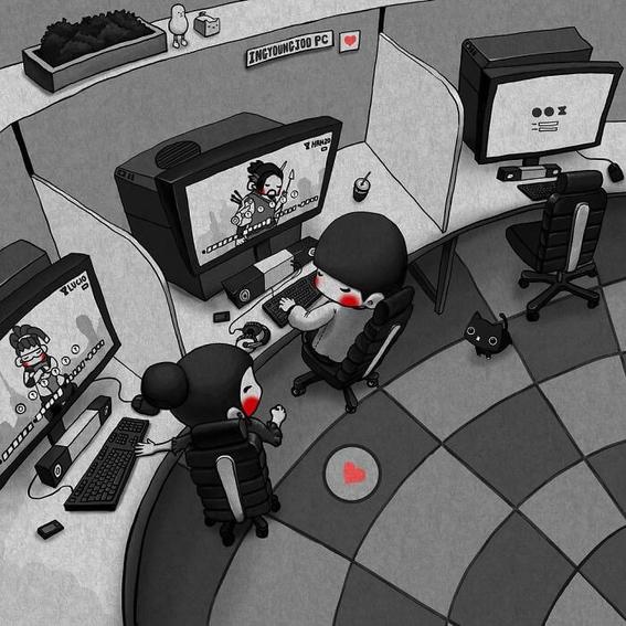 ilustraciones de young joo kim 2