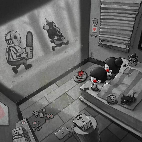 ilustraciones de young joo kim 3