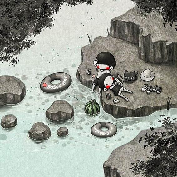 ilustraciones de young joo kim 30