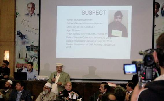 fue detenido asesino de nina zainab 1
