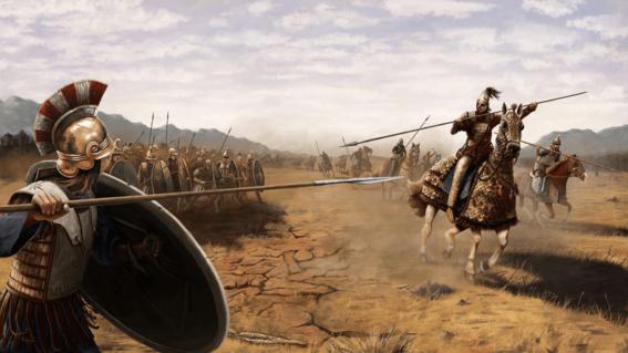 guerreros de la antiguedad 6