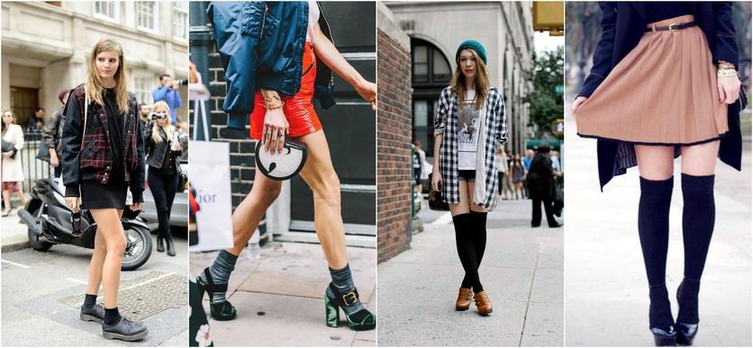 7 formas de usar calcetines por fuera con estilo 1