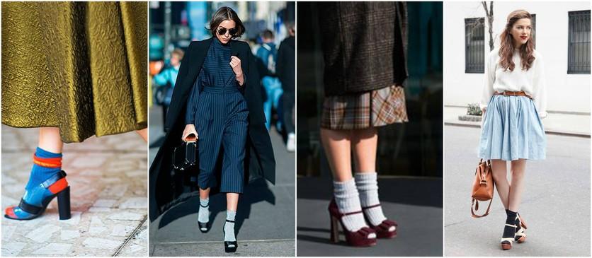 7 formas de usar calcetines por fuera con estilo 2