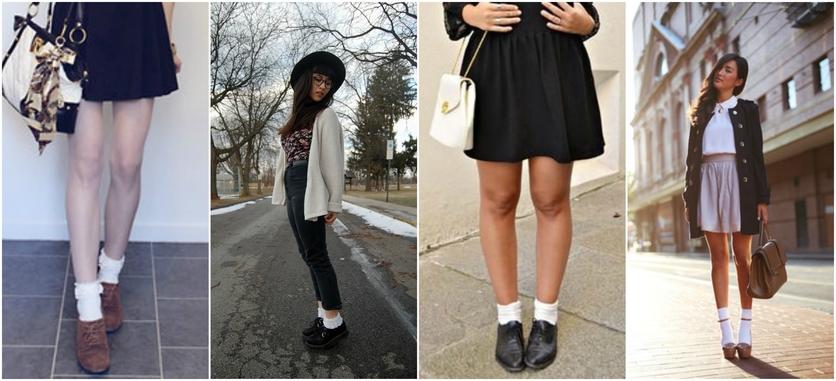 7 formas de usar calcetines por fuera con estilo 5