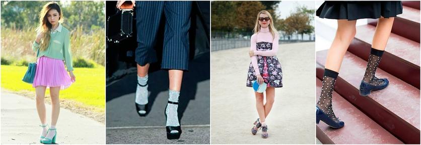 7 formas de usar calcetines por fuera con estilo 7