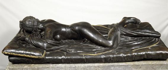 sleeping hermaphrodite sculpture ancient rome 2
