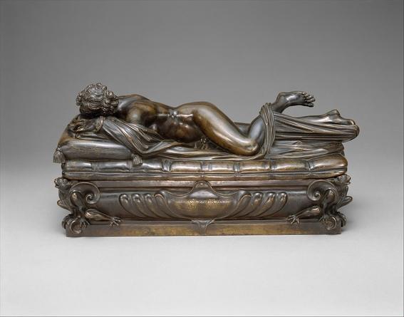 sleeping hermaphrodite sculpture ancient rome 3