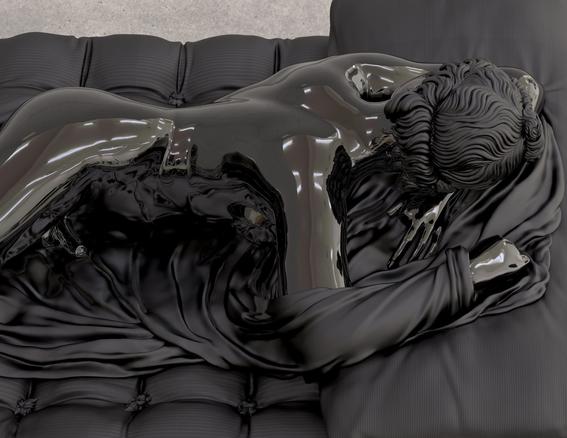 sleeping hermaphrodite sculpture ancient rome 4