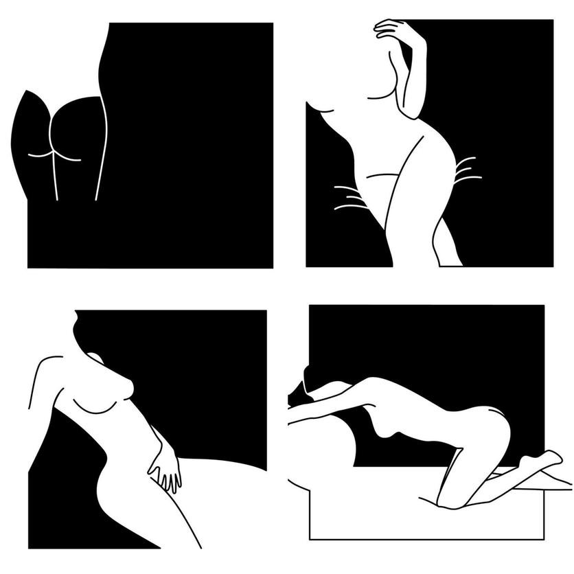 Ilustraciones de Minimal Favors para mujeres que no temen vivir el placer 6