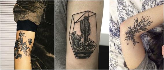 tatuajes de plantas 7