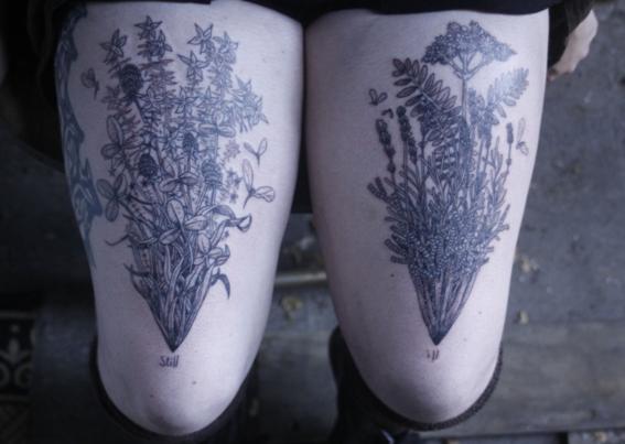 tatuajes de plantas 1