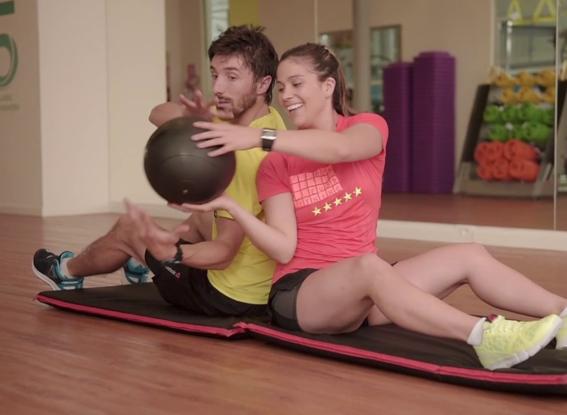 rutinas de ejercicio en pareja 12