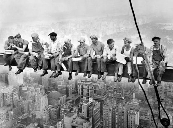 almuerzo sobre un rascacielos 2