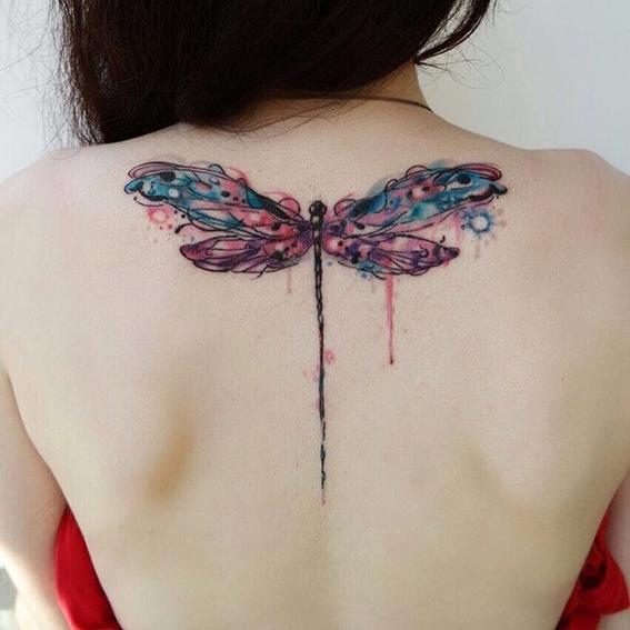 dragonfly tattoos symbolism 4