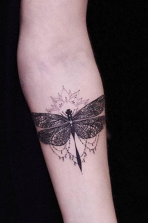 dragonfly tattoos symbolism 8