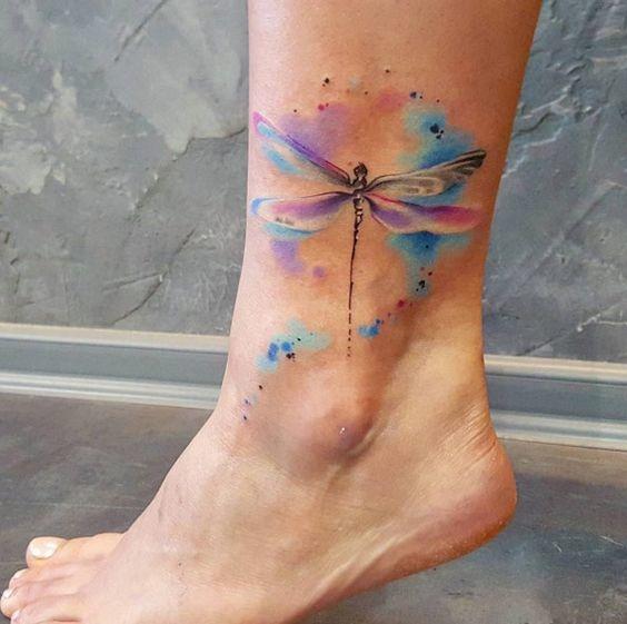 dragonfly tattoos symbolism 12