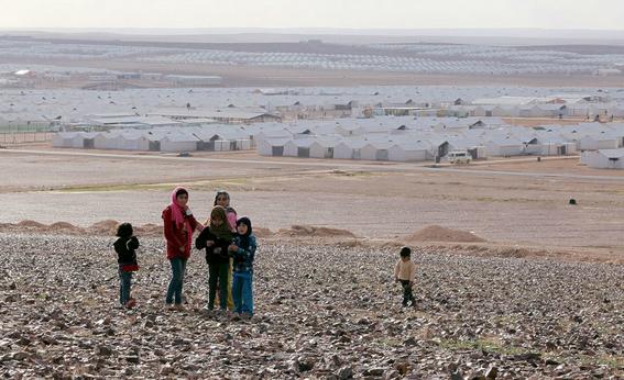 campo de refugiados sirios azraq 1