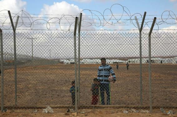 campo de refugiados sirios azraq 2