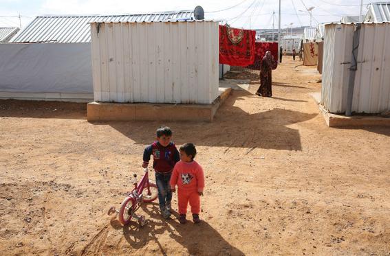 campo de refugiados sirios azraq 3