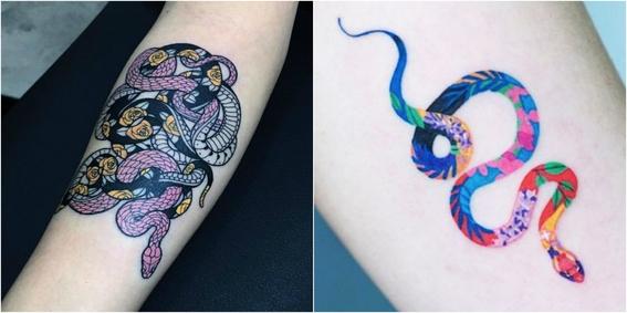 tatuajes de serpientes 4